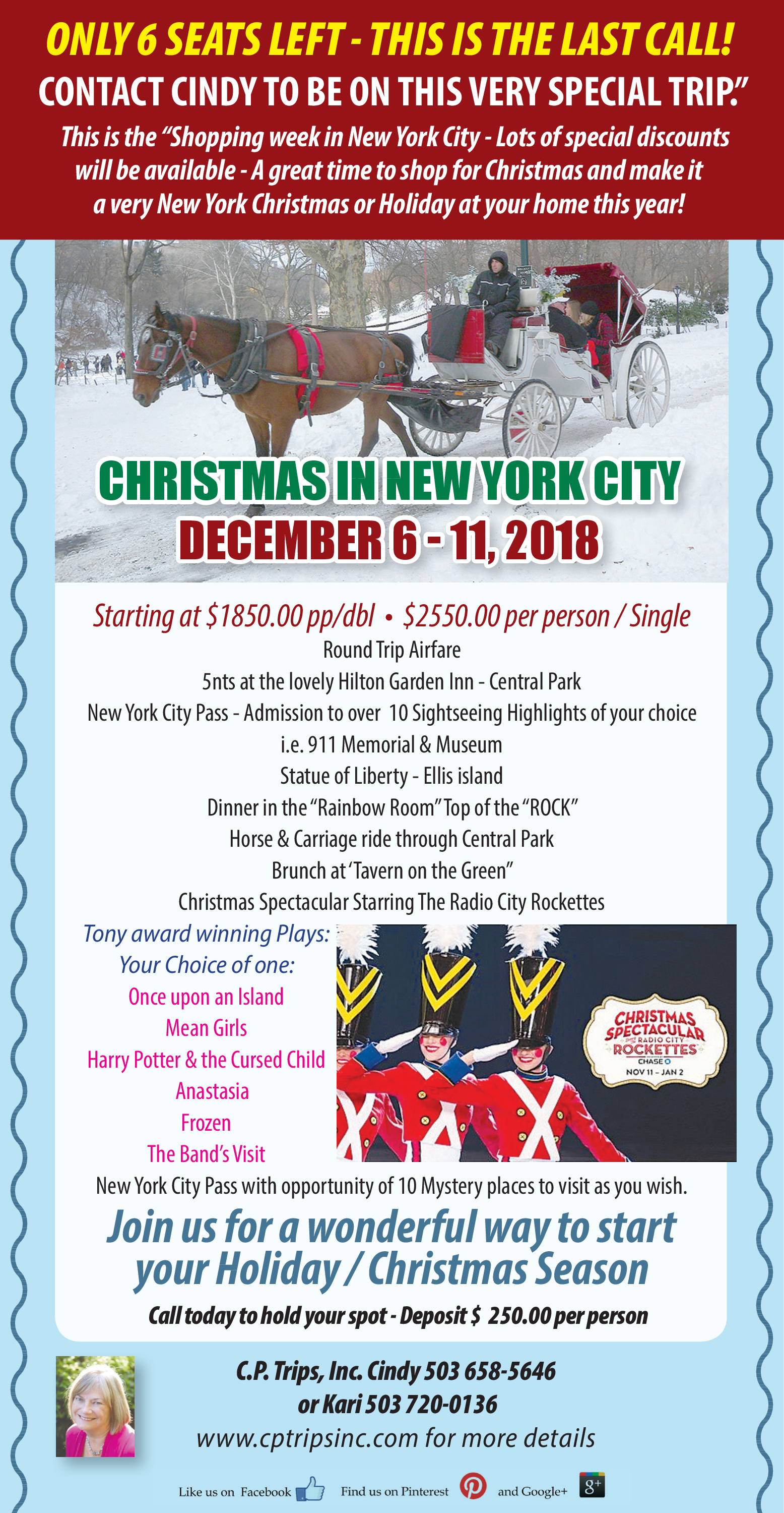 christmas in new york city in portland or travel adventure cp trips inc - And This Christmas Will Be A Very Special Christmas