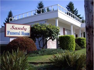 Image result for sandy funeral home